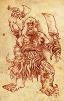 Chaos Ogre by hawanja