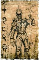 Lord Zedd Scroll by hawanja