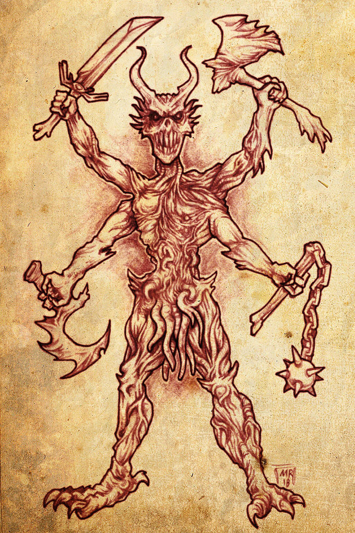 Demon Warrior by hawanja