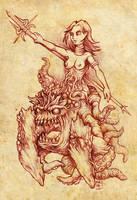 Valthusia, Warlord of Hell by hawanja