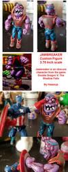 Double Dragon Jawbreaker custom action figure by hawanja