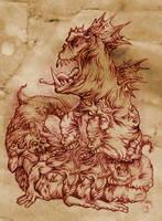 The Vile Beast by hawanja