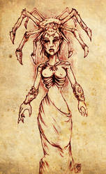 The Spider Priestess by hawanja