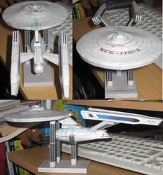 Enterprise A by paperart