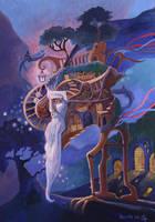 Wandering the World by yanadhyana