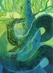 Green Dragon by yanadhyana