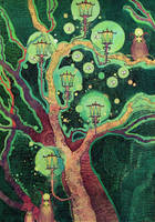 The Lantern Tree by yanadhyana