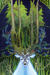 Ghost of Forest by yanadhyana