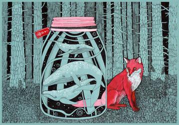 Parcel for Fox by yanadhyana