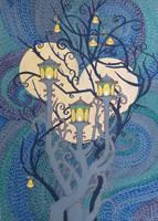 Garden Lanterns by yanadhyana