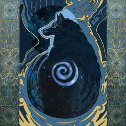 Gray Wolf by yanadhyana