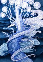 White Dragon by yanadhyana
