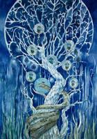 Blue Lights by yanadhyana