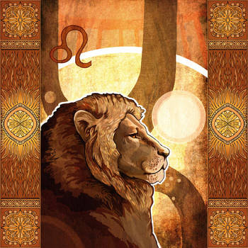 Lion by yanadhyana