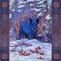 Wild Boar by yanadhyana