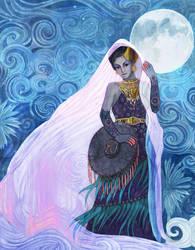 Moon Veil by yanadhyana