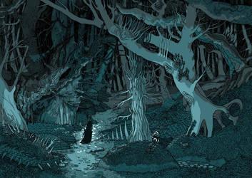 Dark Forest by yanadhyana