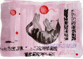 Catvember: Sweet Dreams by yanadhyana