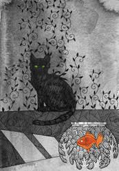 Catvember: Hunter by yanadhyana