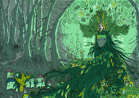 Green Thoughts by yanadhyana