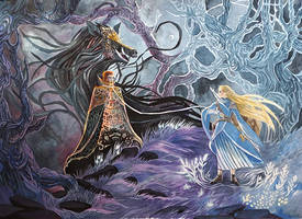 The Princess and Wizard by yanadhyana