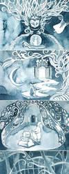 Inktober. Story 1: Atonement by yanadhyana