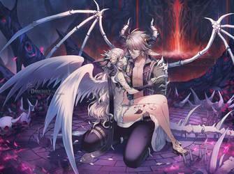 Commission [Remix] : Styx and Celeste by Darkavey