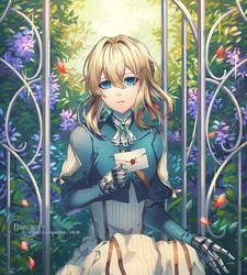 Fanart : Violet Evergarden by Darkavey