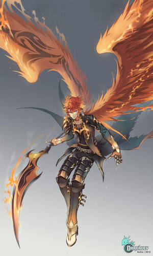 Reiha : Hell's Knight by Darkavey
