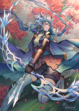Blue Archer by Darkavey