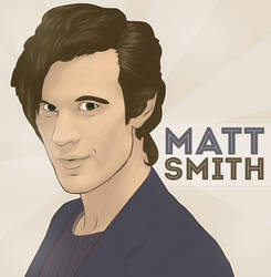 Matt Smith by spillingtuesday
