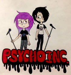 PSYCHO INC.: Cover by colourbomb99