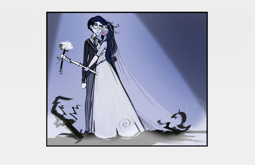 Corpse Bride lovers by didouchafik