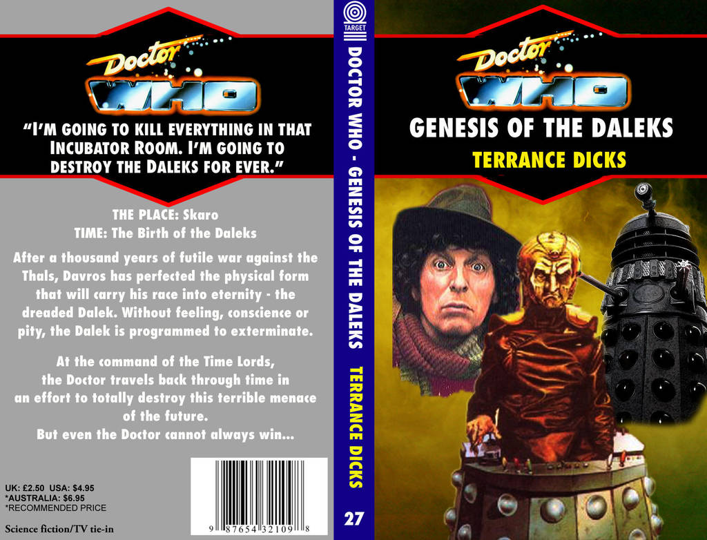 DOCTOR WHO: Genesis of the Daleks by DrWho50thAnniversary