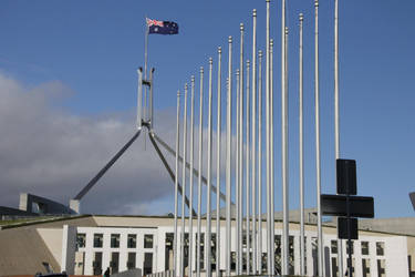 Parliament House - Canberrra, Australia by DrWho50thAnniversary