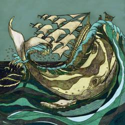 Leviathan Strikes by matt-brown