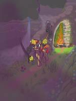 darksouls pony by Lord-Bovlington