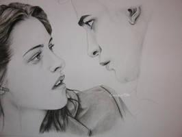 Bella and Edward WIP2 by Lunicqa