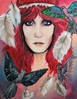 Florence Welch by Lunicqa