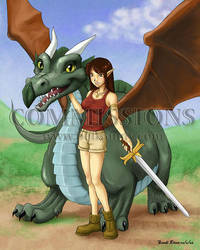 Lori and the Dragon by bellsandy