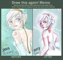 Draw This Again Meme: Nieve by MMXII