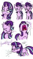 Sneezy Starlight Glimmer Comic by PSFForum