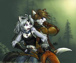 Flirt by ayzewi