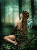 Forest  nymph by moonchild-ljilja