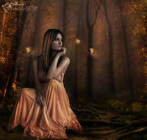 Mystic wood by moonchild-ljilja