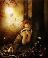 Autumn Wind by moonchild-ljilja