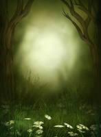 Magic Wood background free by moonchild-ljilja