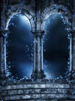 Fantasy night free background by moonchild-ljilja