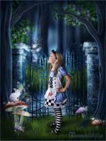 Alice In Wonderland by moonchild-ljilja