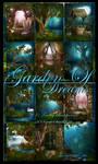 Garden Of Dreams backgrounds by moonchild-ljilja
